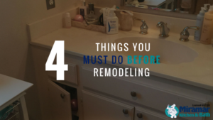 remodeling in four easy steps
