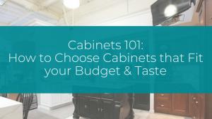 stock cabinets, custom cabinets