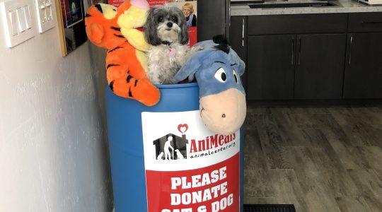 donate pet supplies