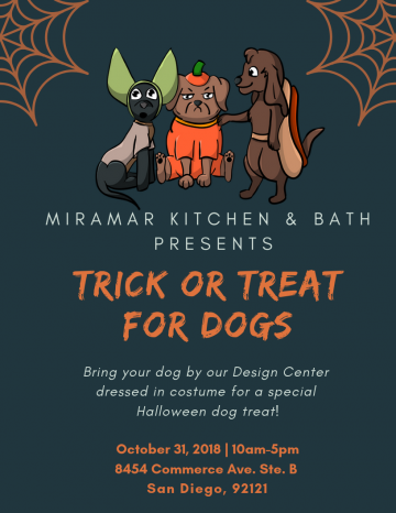 trick or treat dogs san diego
